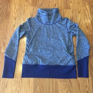 Lucy Blue Pullover, Yoga, Sz S
